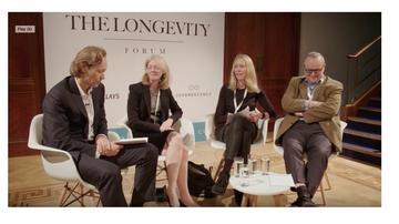 Longevity Forum panel November 2019